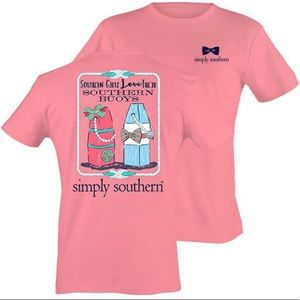 🍍4/$25 Simply Southern Graphic Tee shirt